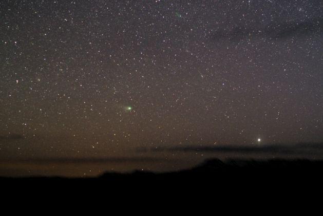 Regardez la comète NEAT à l\'ouest