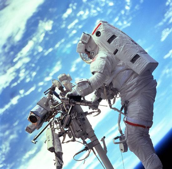 Travailler dans l'espace