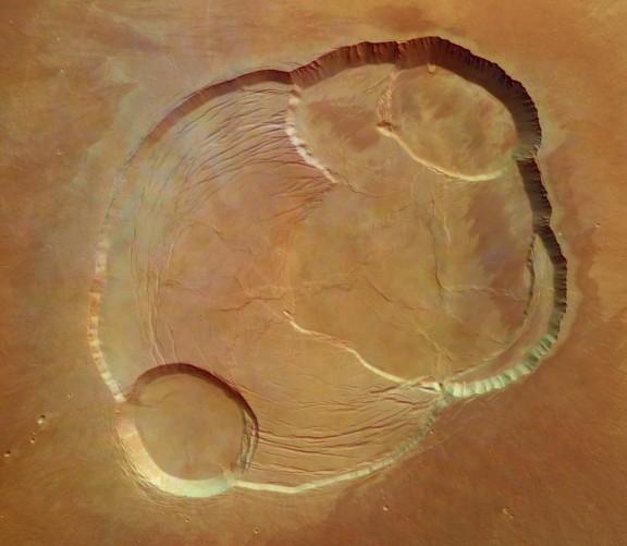 Au sommet d\'Olympus Mons