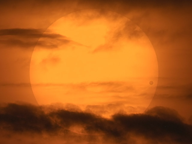Un transit de Vénus photogénique
