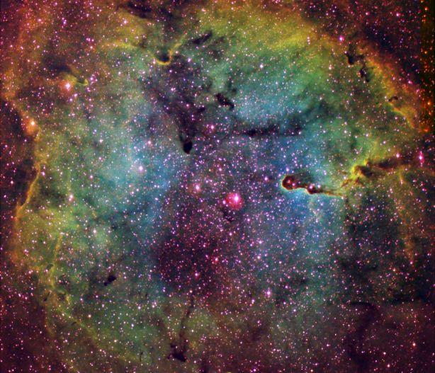 La nébuleuse par émission IC1396