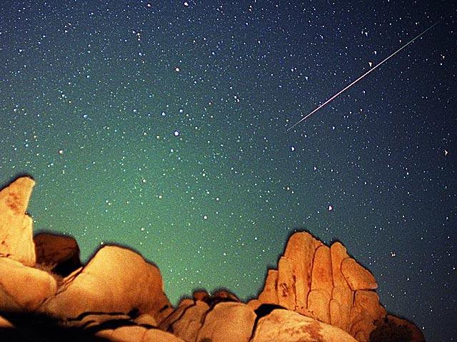 Une étoile filante des Perséides