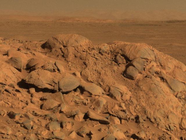 A l\'horizon de Mars