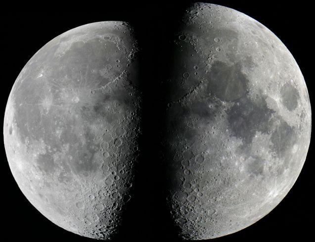 Lune à l\'apogée et au périgée