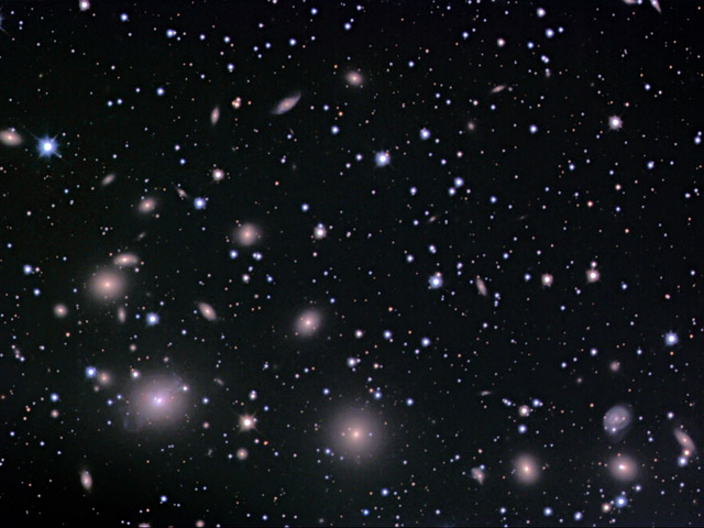 L\'amas de galaxies de Perseus