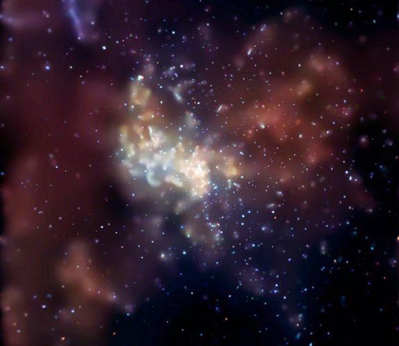 Les rayons-X du coeur galactique