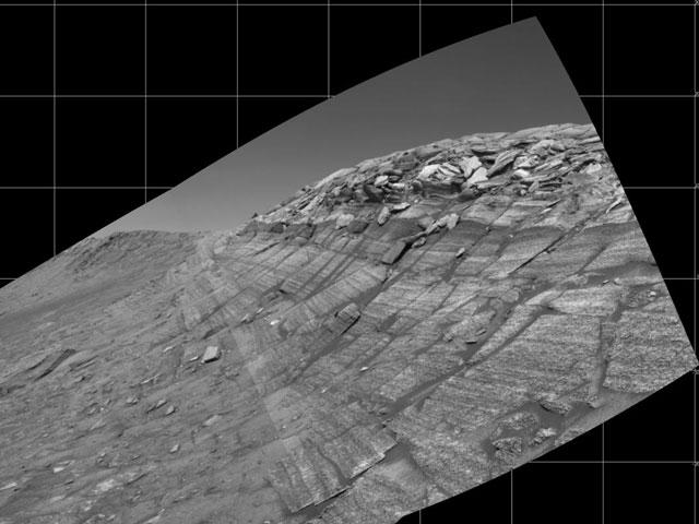 Burns Cliff sur Mars
