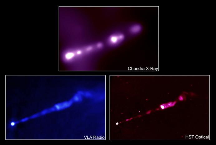 Le jet énergétique de M87