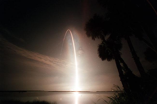 Atlantis vers orbite