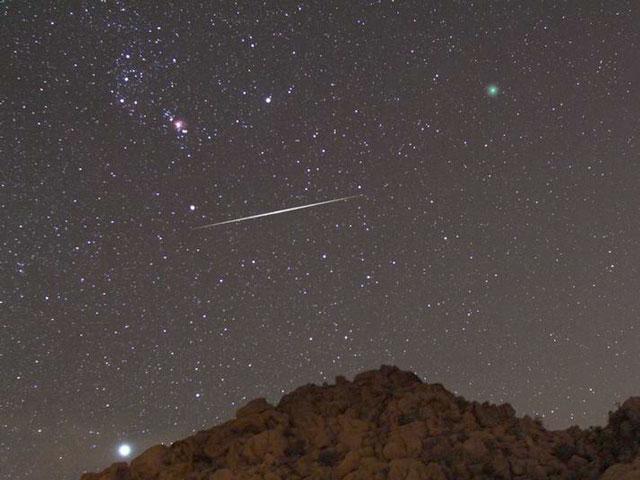 La comète, l\'étoile filante, la nébuleuse et l\'étoile