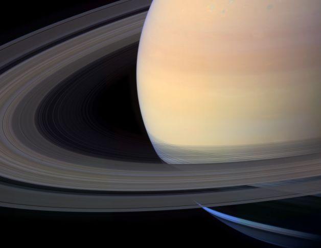 Une splendide Saturne