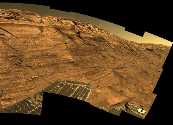 Une année à rouler sur Mars