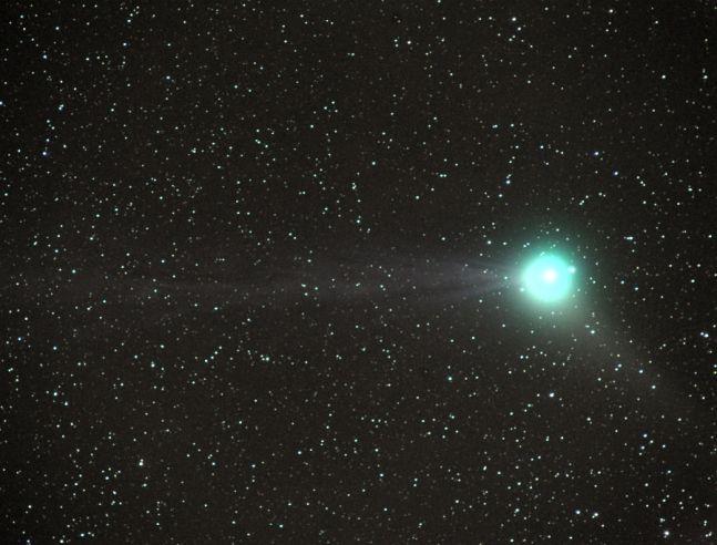 Comète Machholz en vue