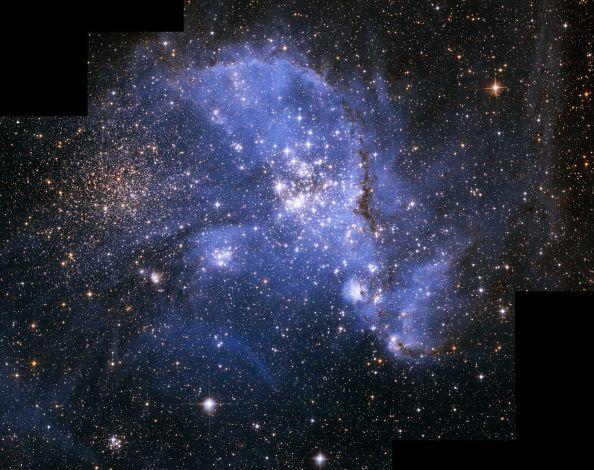 NGC346 dans le Petit Nuage de Magellan