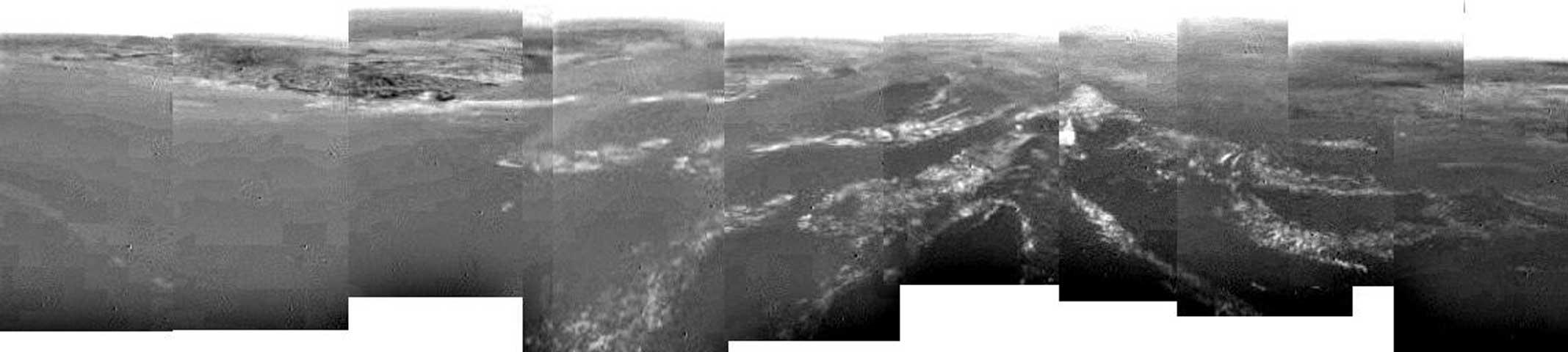 8km au-dessus de Titan