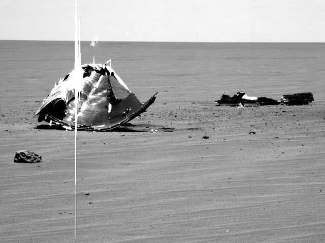 Du métal dans les plaines de Mars