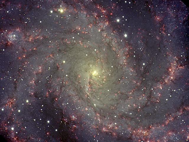 NGC6946: la Galaxie du Feu d\'Artifice