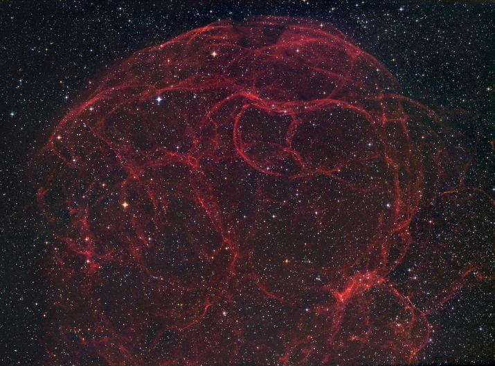 Simeis 147: rémanant de supernova