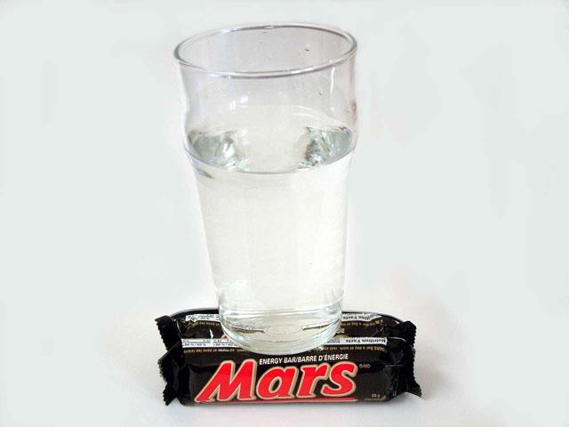 De l\'eau sur Mars
