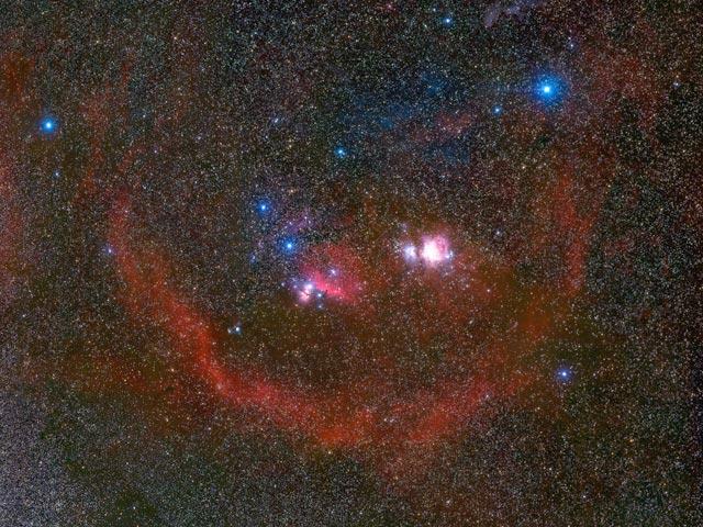 La Boucle de Barnard autour d\'Orion