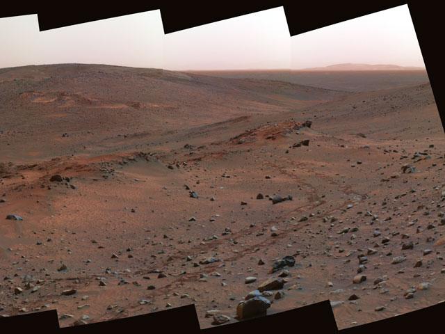 L\'affleurement Mathusalem sur Mars