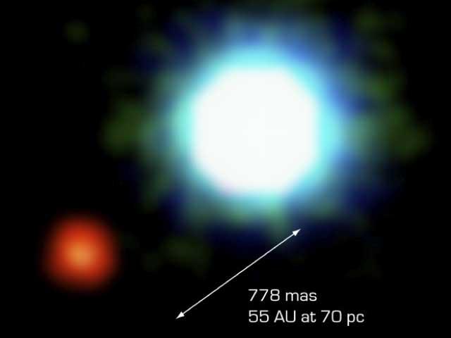La première image d\'une planète extrasolaire