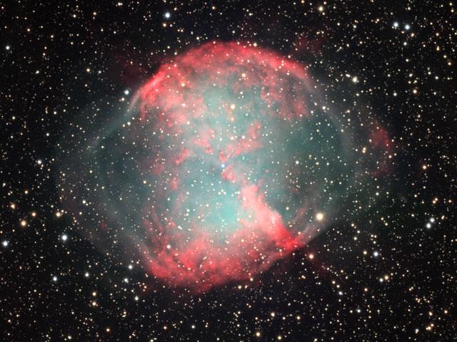 M27: la nébuleuse Dumbbell