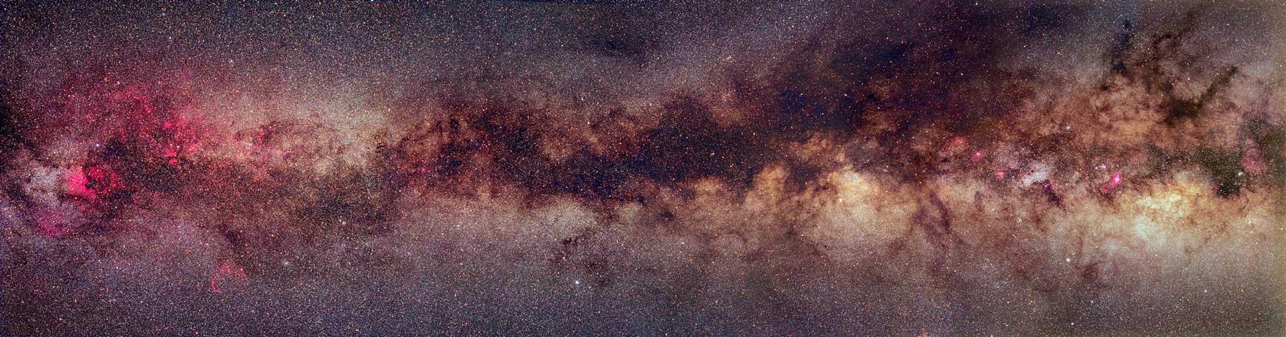 La bande la Voie Lactée