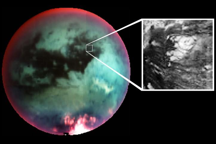 Le cryovolcan de Titan