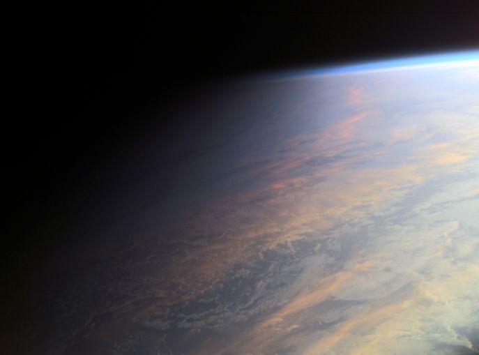 La Terre au crépuscule