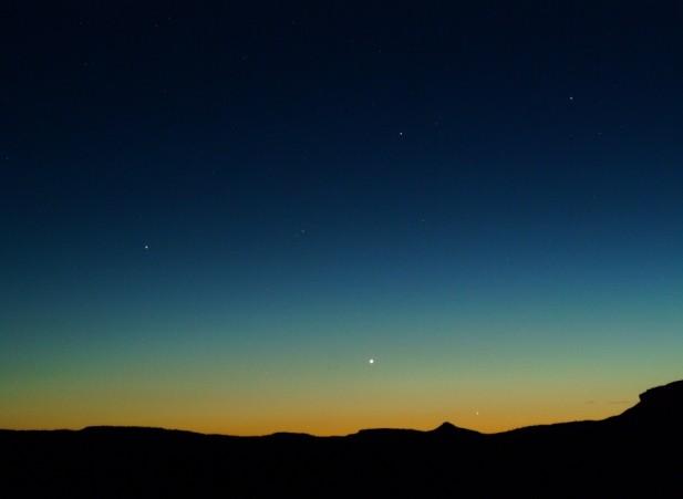 Des planètes à l\'ouest