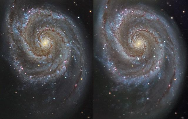 Une supernova proche dans M51