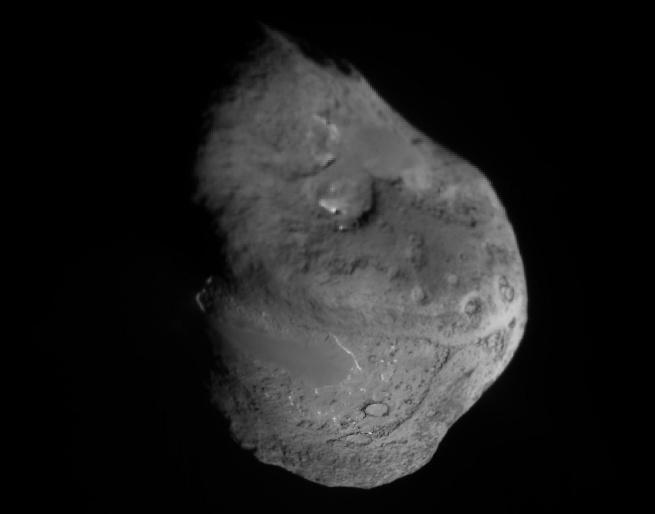 Le noyau de la comète Tempel1
