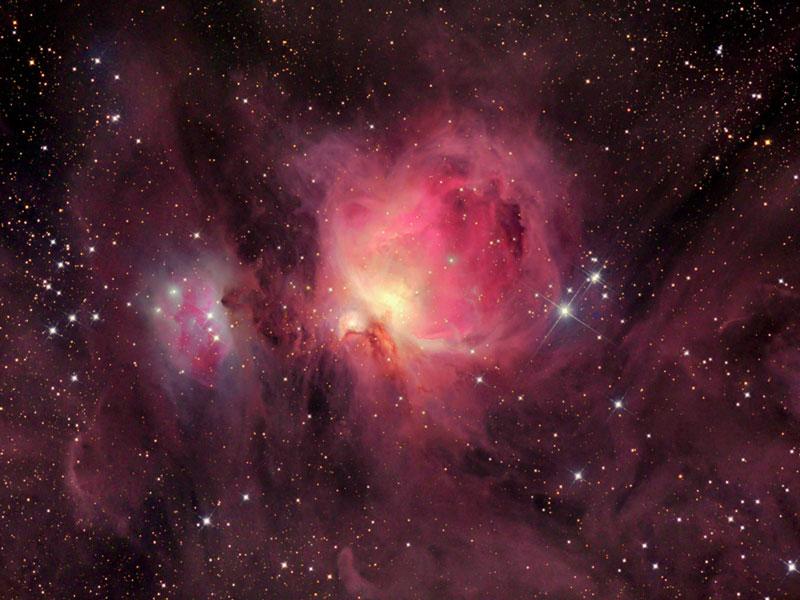M 42 : les nuages de la Nébuleuse d\'Orion