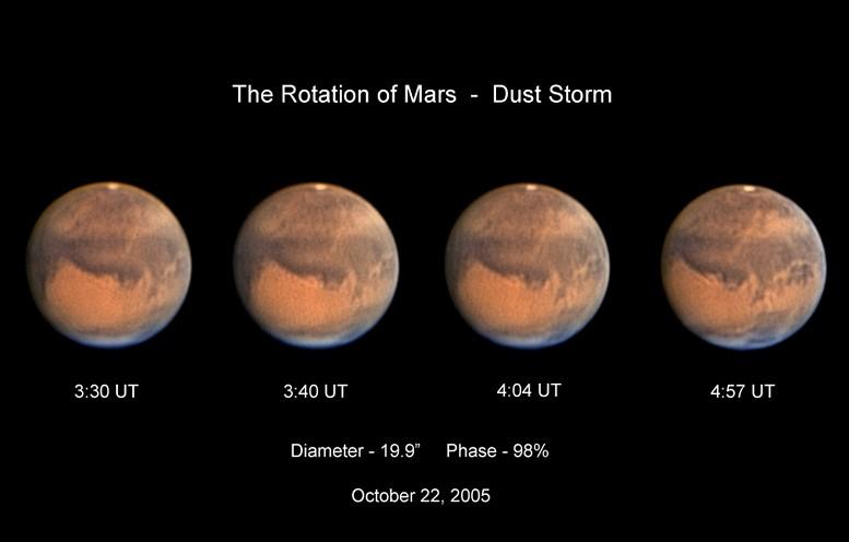 Mars en octobre