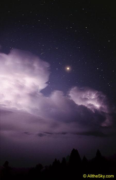 Une sombre nuit d\'orage