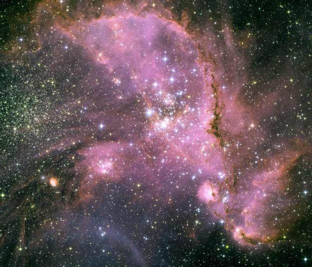 Les bébés étoiles de NGC 346