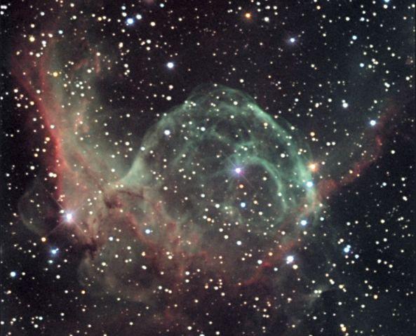 NGC 2359 : le casque de Thor