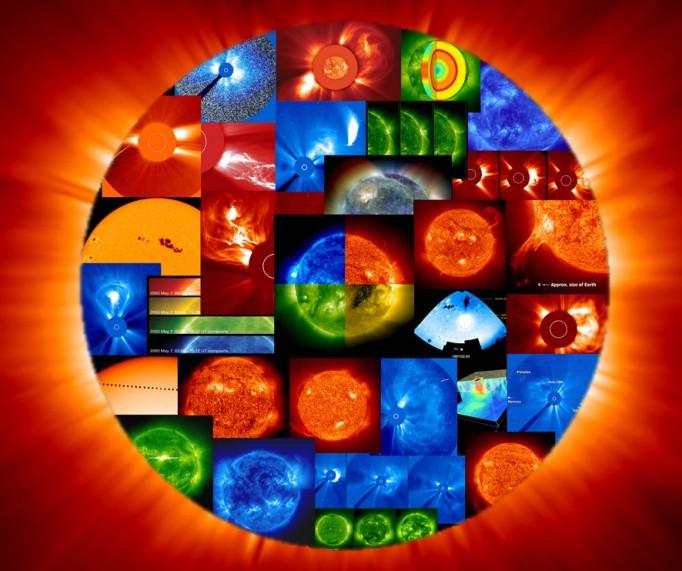 L\'imprenable vue sur le Soleil de SOHO