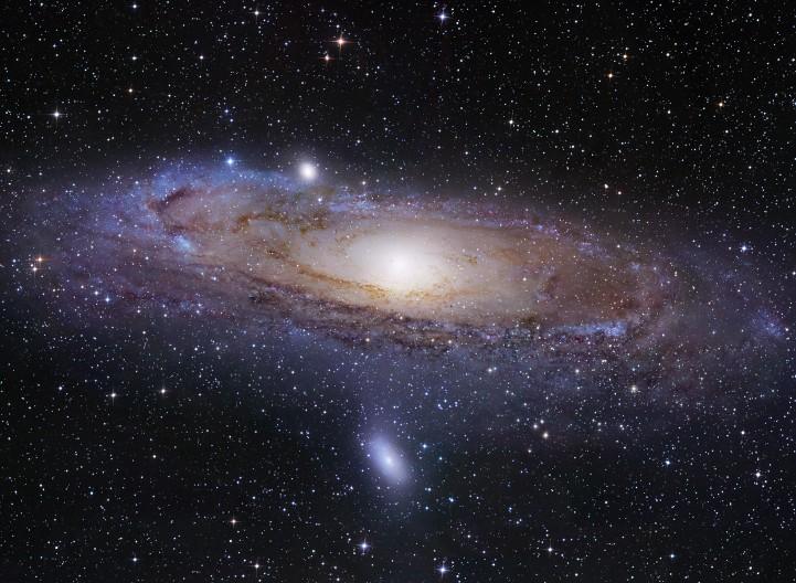 L\'univers-île d\'Andromède