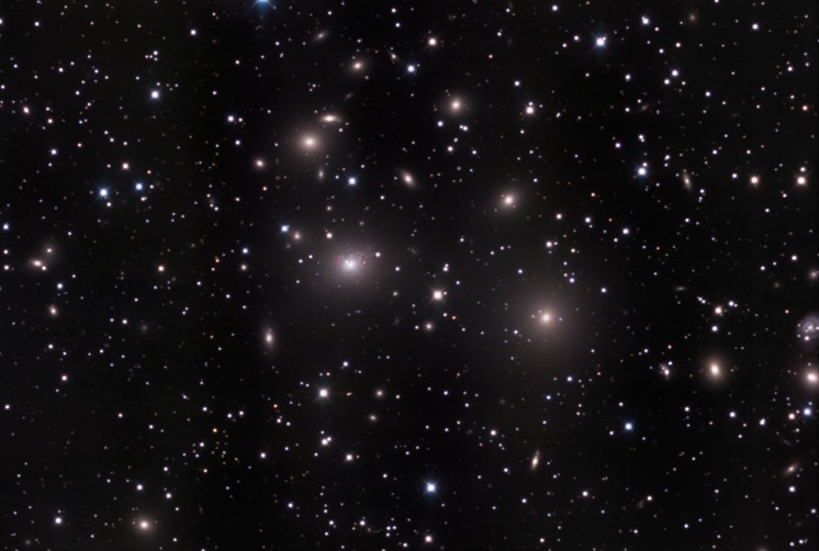 L\'amas de galaxies de Persée