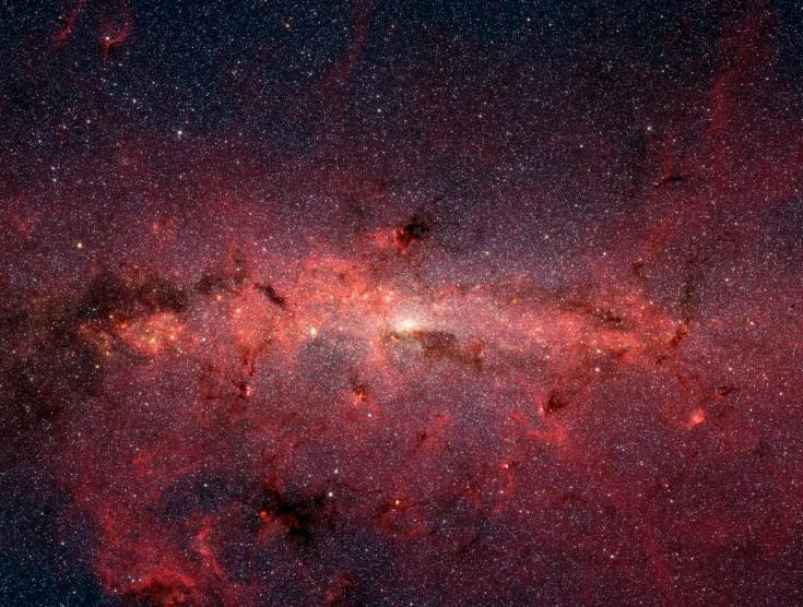 Les étoiles du centre galactique
