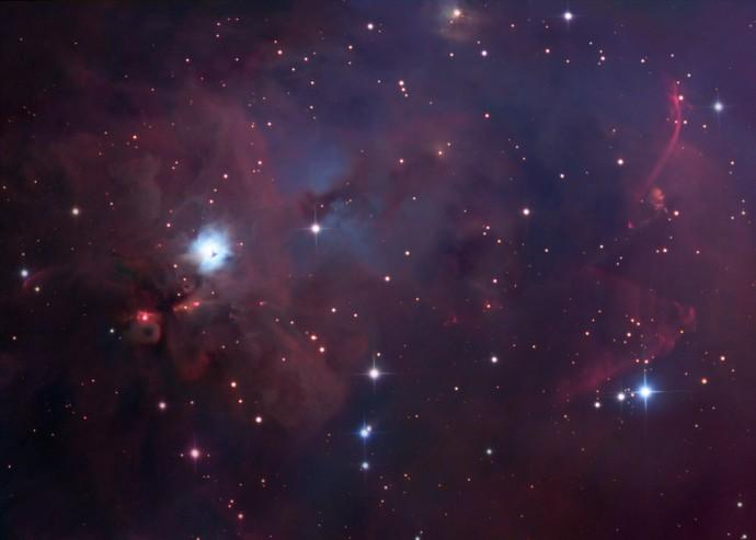 NGC 1999 : Au sud d\'Orion