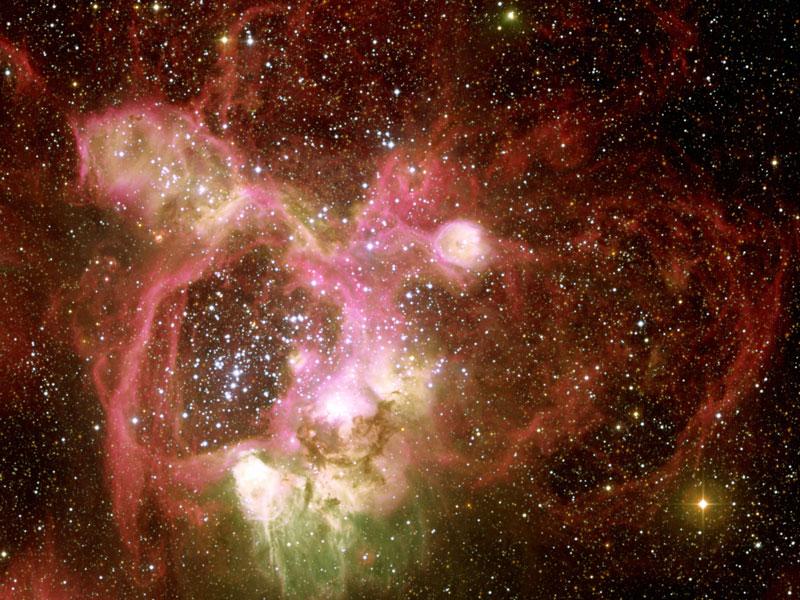 La nébuleuse par émission N44