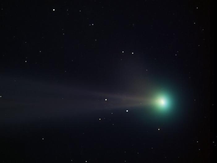 Les couleurs de la Comète Pojmanski