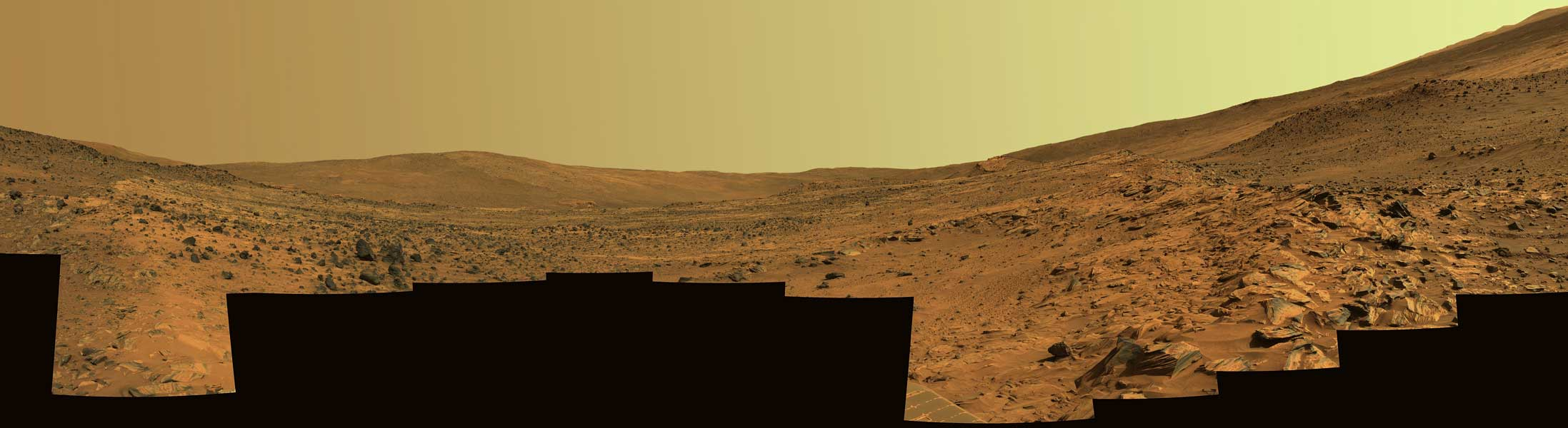 La Colline Mac Cool sur Mars