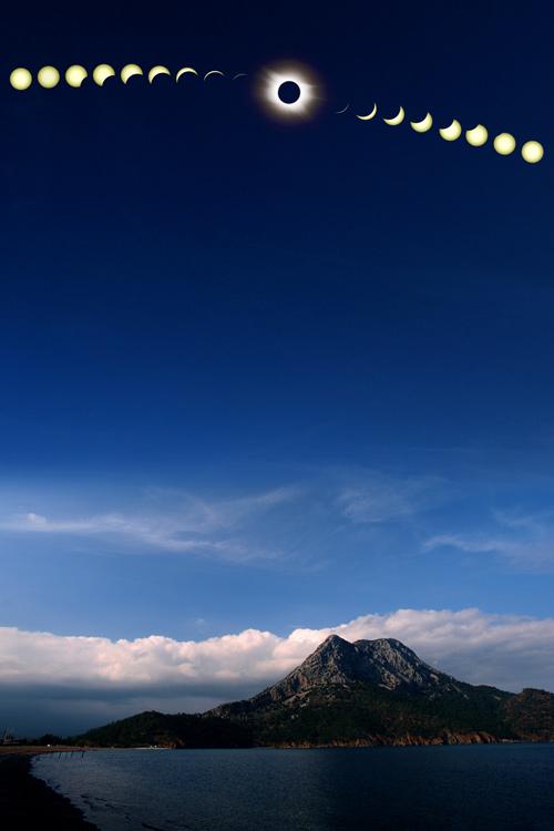 Eclipse totale au-dessus de la Turquie