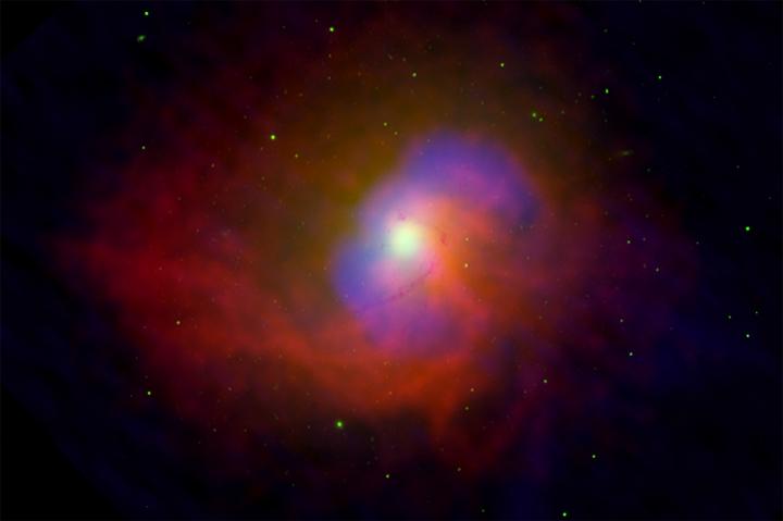 NGC 4696, l'énergie d'un trou noir