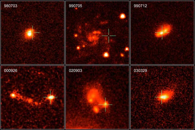 Les galaxies hôtes des sursauts gamma longs