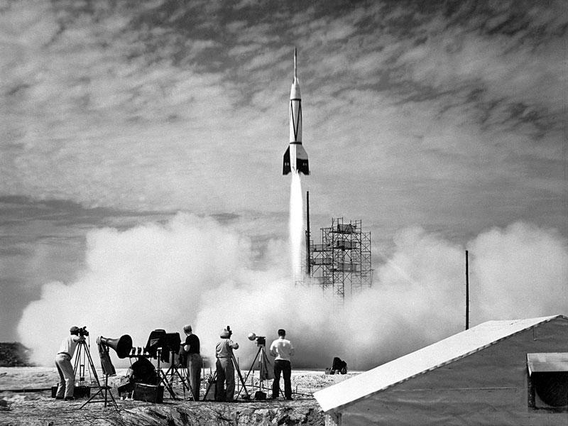 Le premier lancement depuis Cap Canaveral
